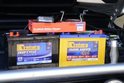Dual batteries & DC-DC charger