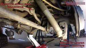 Landcruiser 200 rear shocks