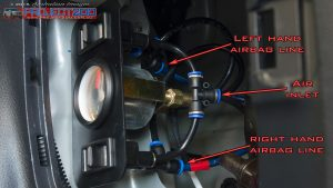 Airbag control panel