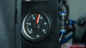 Airbag pressure gauge