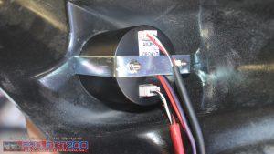 Air gauge connection