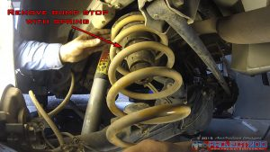 Remove landcruiser rear springs
