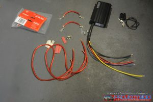 DC-DC charger wiring
