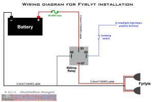 FYRLYT wiring diagram