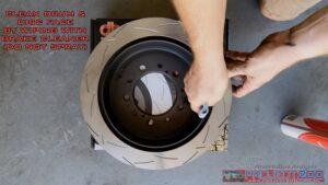 Clean DBA rotor