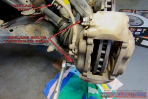 Install DBA caliper Landcruiser 200