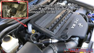Fuel rail pressure chip DP