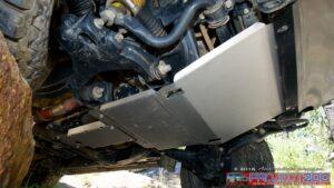 Landcruiser 200 bash plates