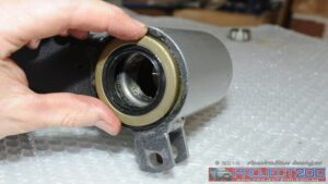 Install bearings and seals wheel carriers
