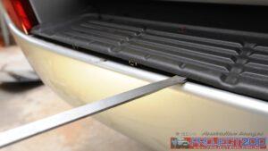 Remove step rear bumper landcruiser 200