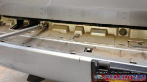 Remove rear bumper landcruiser 200