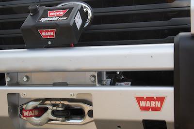 Warn winch install