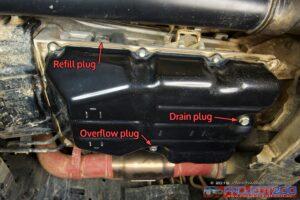 Landcruiser 200 transmission pan