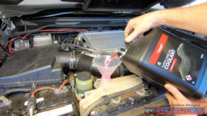 LandCruiser 200 refill coolant