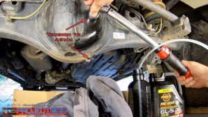 Torque rear diff plug
