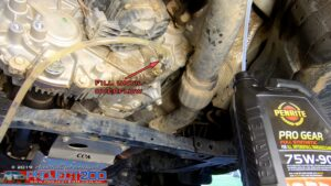 Landcruiser 200 refill transfer case