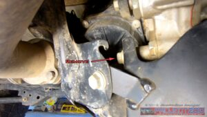 Remove side bolts transfer case