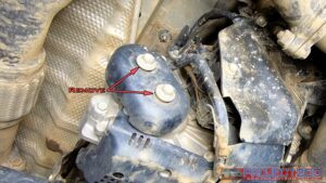 Landcruiser 200 transfer case dampener