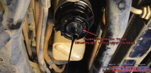 drail oil filter housing