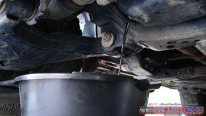 Drain oil landcruiser 200