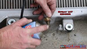 Clean intake air temperature sensor